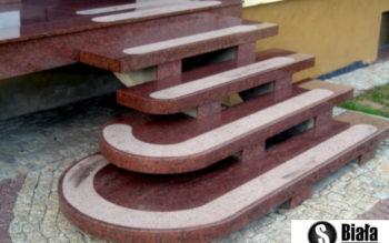 Schody z kamienia A10