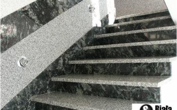 Schody z kamienia A9