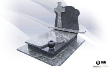 Nagrobek granitowy podwójny A7
